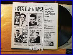 NEAR MINT ORIGINAL Elvis Presley POT LUCK LPM-2523 in BAGGY