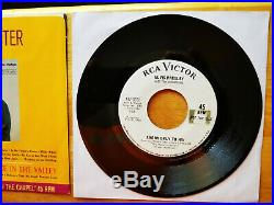 NEAR MINT VINYL WHITE LABEL PROMO Elvis Presley JOSHUA FIT THE BATTLE 447-0651
