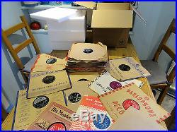 NICE JOB LOT OF 50 1950S 78s ELVIS PRESLEY BILL HALEY PAT BOONE TOMMY STEELE ++