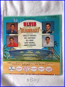 New & Sealed Elvis Presley Clambake Original Lp With Bonus Photo