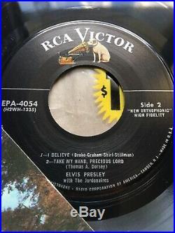 OLD STOCK ELVIS PRESLEY EP 45 RPM (Unplayed) 1956