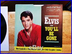 ONE OF A KIND'65 MAILER FROM/TO COL. PARKER Elvis Presley DO THE CLAM 47-8500