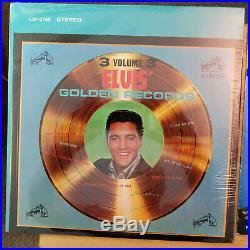 ORIG. SEALED STEREO Elvis Presley ELVIS'GOLDEN RECORDS VOL. 3 withBOOKLET LSP-2765