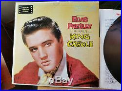 ORIGINAL MINT VINYL Elvis Presley KING CREOLE LPM-1884 with BONUS ARMY PHOTO