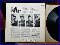 ORIGINAL VG+ to VG++ 3s / 5s Elvis Presley Elvis Presley LPM-1254