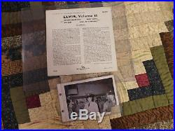 Old Rca Record And 1958 Military Elvis Presley Signed 1958 Photo Fair To Good
