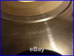 Old Shep Elvis Presley Professional Disc Jockey Promo Record CR-15 Framed Rare