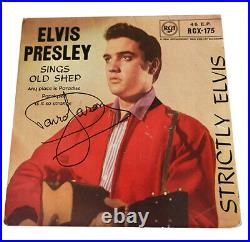 Only Fools and Horses Old Shep 7 Elvis Presley Record by Signed David Jason