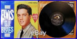 Orig. 1s /1s Elvis Presley G. I. BLUES SHRINK & Wooden Heart Sticker LSP-2256
