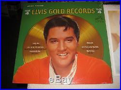 Orig Factory Sealed Elvis Presley Elvis' Gold Records Vol. 4 w /Photo LSP-3921