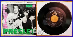 Orig. P. D, Silver lined Label, ADS Back Elvis Presley ELVIS PRESLEY EPA-747