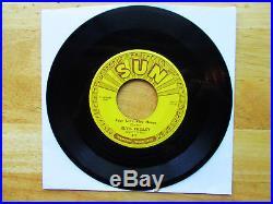 Orig SUN Elvis Presley Baby Let's Play House 217 NEAR MINT LABELSPush Marks