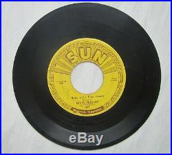 Orig Sun 45 Sun 217'Baby Lets Play House/ I'm Left, Youre Right, Shes Gone