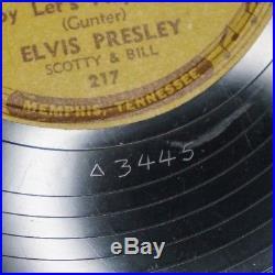Original 1955 Elvis Presley Sun Records 78 rpm 217 Baby Let's Play House EX-