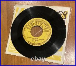 Original 1955 Sun Records Elvis Presley Mystery Train #223 With Original Sleeve