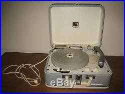 Original 1956 RCA Elvis Presley Record Player Works! Plays Great