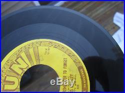 Original Elvis Presley 45 Sun Records (223) Mystery Train