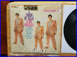 Original Elvis Presley A TOUCH OF GOLD VOLUME 3 EPA-5141 IN BAGGY