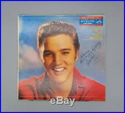 Original Elvis Presley RCA for LP Fans only 12 record hand signed by Elvis