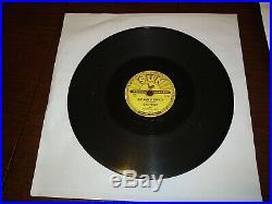 Original Elvis Presley Sun Record 78 RPM Recording #209 That's All Right