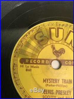 Original Elvis Presley Sun Records 223 Mystery Train Forgot To Forget 78 Speed