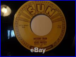 Original Elvis Presley sun 45 Mystery Train/I forgot to remember to forget #223