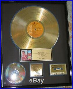 Original RIAA Gold Record Award Presented to Elvis Presley for Blue Hawaii