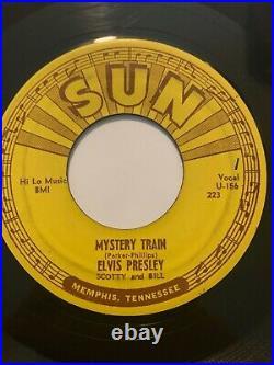 Original Rockabilly 45/ Elvis Presley Mystery Train SUN 223 NM/VG++ BEAUTY