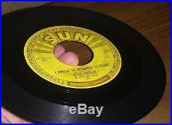 Original SUN Elvis Presley Mystery Train 45 rpm