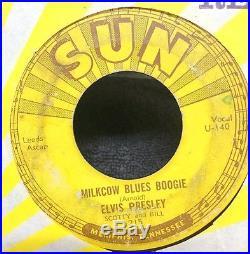 Original Set of 5 Elvis Presley Sun 45 Records 209 210 215 217 223