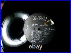 Our Memories Of Elvis 1979 Rca Aql1-3279 Not For Sale Promo Lp& Hype Sticker Exc