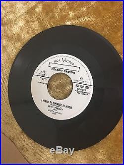 (PROMO) Elvis Presley Mystery Train RCA Victor 47-6357 1955 Rockabilly JL