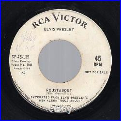(PROMO) Elvis Presley Roustabout /One Track Heart RCA Victor SP-45-139 1964