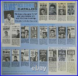 PROMO Elvis Presley Speedway LP with photo, hype sticker, inner slv 1968 top copy