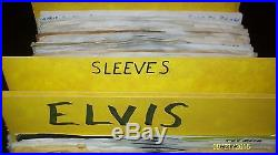 Personal Elvis Presley 45 RPM Collection