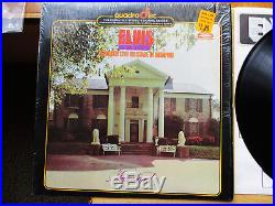 QUAD Cutout Elvis Presley Recorded Live On Stage In Memphis Shrk APD1-0606