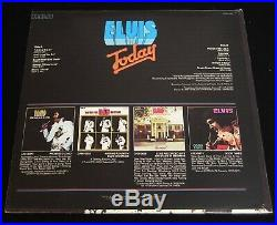 QUAD-Elvis Presley Today-1975 US LP-SEALED withStunning Cover