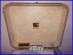 RARE 1956 ELVIS PRESLEY AUTOGRAPH RCA RECORD PLAYER model 7-EP-2