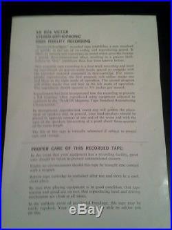 RARE ELVIS PRESLEY RCA MAGAZINE loading CARTRIDGE OF ELVIS IS BACK KPS3127