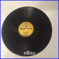 Rare Elvis Presley Sun 78 Record