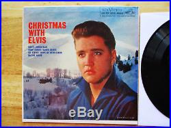 RARE HOLLYWOOD PRESSING MINT Elvis Presley CHRISTMAS WITH ELVIS EPA-4340