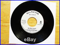 RARE MINT White Label promo Elvis Presley ROUSTABOUT SP45-139 $300.00 BV 10/64