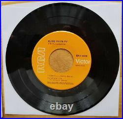 RARE NEAR MINT 1968 ORANGE LABEL Elvis Presley A TOUCH OF GOLD EPA-5088