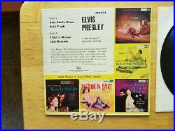 RARE NEAR MINT P. D. And ADS back LABEL Elvis Presley ELVIS PRESLEY EPA-747