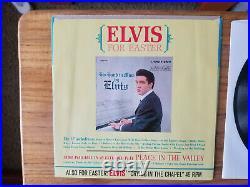 RARE NEAR MINT PROMO Elvis Presley MILKY WHITE WAY 447-0652 99% MINT SLEEVE