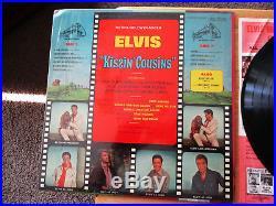 RARE NO CAST Elvis Presley KISSIN' COUSINS ORANGE RIGID Shrink LSP-2894