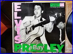 RARE P. D. LABEL 1s / 3s Elvis Presley Elvis Presley LPM-1254 withONION SKIN