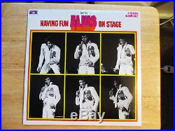 RARE PERFECTLY Sealed BOXCAR Elvis Presley Having Fun With Elvis On Stage