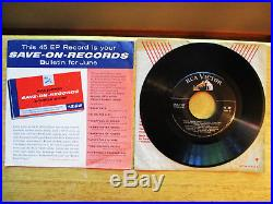 RARE SAV-ON-RECORDS BULLETIN FOR JUNE Promo Elvis Presley with P/S SPA-7-27
