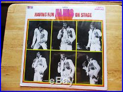 RARE Sealed BOXCAR Elvis Presley Having Fun With Elvis On Stage